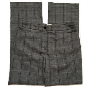 Talbots Petites Heritage Gray Plaid Dress Pants